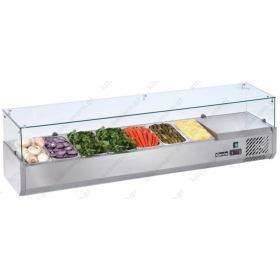 Επιτραπέζια Βιτρίνα Πίτσας - Τόστ για 8 Λεκανάκια 180 εκ SAL 1800-38