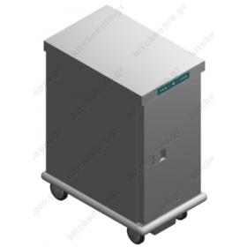 Τροχήλατος Θερμοθάλαμος 13 GN1/1 με Υγρασία EX13GN1/1R EMAINOX Ιταλίας