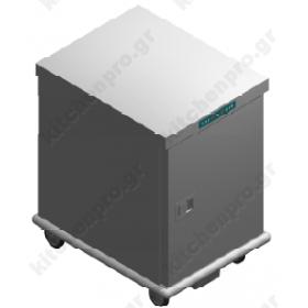 Τροχήλατος Θερμοθάλαμος 7 GN1/1 με Υγρασία UC7GN1/1R EMAINOX Ιταλίας