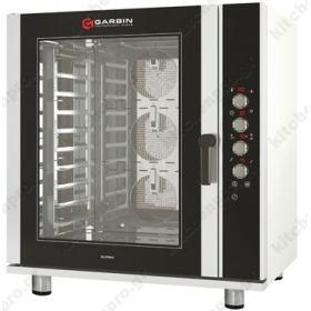 Επαγγελματικός Φούρνος Convection Αρτοποιείας & Ζαχαροπλαστικής (Ηλεκτρονική Οθόνη) 10 Ταψιά 40x60 G|PRO 10A GARBIN Ιταλίας