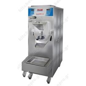 Μηχανή Παστερίωσης & Παραγωγής Παγωτού50 Λίτρων TELME Ιταλίας Σειρά PROFIGEL COMBI 10+10