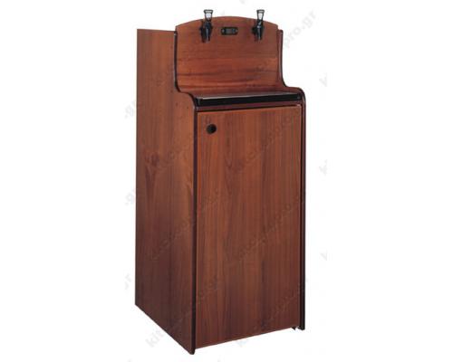 Επαγγελματικό Ψυγείο Συντήρηση Κρασιών για Ασκούς 2x30 LT KITCHENPRO