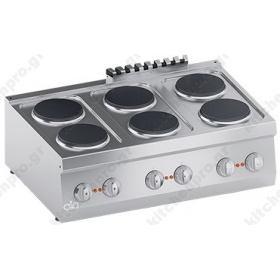Επιτραπέζια Κουζίνα 6 Εστιών 90x60 εκ ATA srl Ιταλίας
