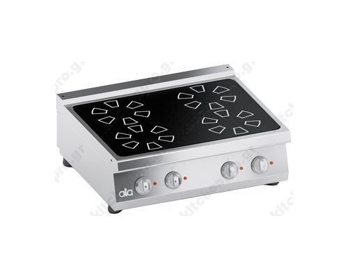 Επαγωγική Κουζίνα 4 Εστιών 80x70 εκ 10KW ATA srl Ιταλίας