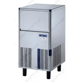 Επαγγελματική Παγομηχανή 34 Κιλών Παγάκι 20 (Σύστημα ψεκασμού)  SIMAG Ιταλίας
