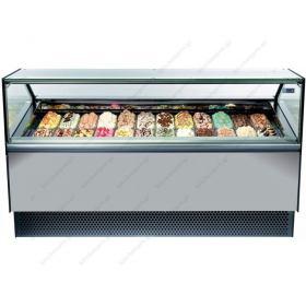 Βιτρίνα Παγωτού για 18 Λεκανάκια MILLENNIUM 170 ISA Ιταλίας