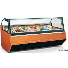 Βιτρίνα Παγωτού για 12 Λεκανάκια SEVEL, PRIZMA