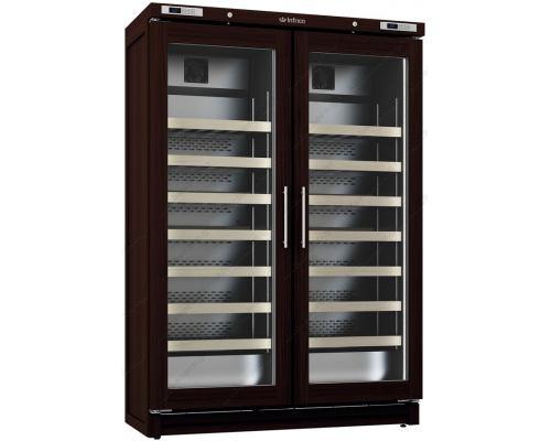 Επαγγελματικό Ψυγείο Συντήρησης & Προβολής Κρασιών 2 Θερμοκρασιών EVV200MX 350 + 350 lt INFRICO Ισπανίας