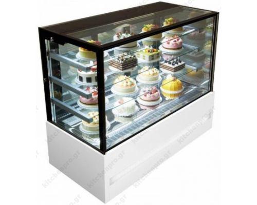 Επαγγελματικό Ψυγείο Βιτρίνα Συντήρησης Ζαχαροπλαστικής - Γλυκών 150,5χ74 εκ. FORCAR Ιταλίας