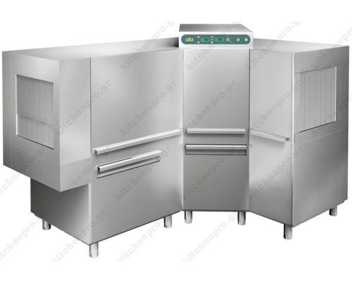 Γωνιακό Πλυντήριο Τούνελ 159x232 εκ, 3200 Πιάτα ATA srl Ιταλίας
