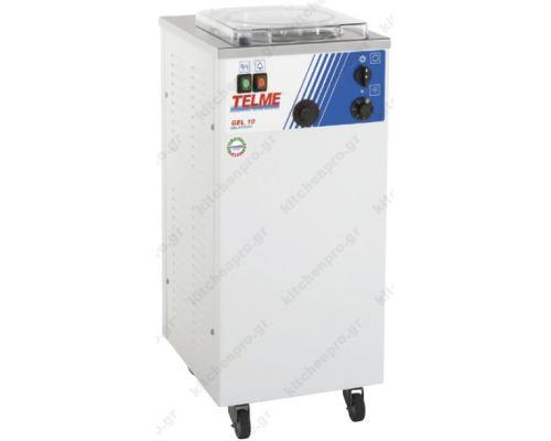 Μηχανή Παραγωγής Παγωτού 10 Λίτρων Gel 10 TELME Ιταλίας