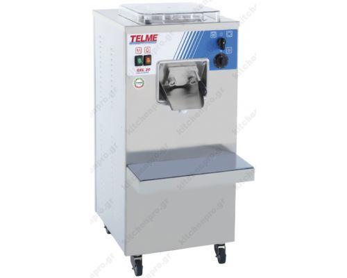 Μηχανή Παραγωγής Παγωτού 20 Λίτρων Gel 20 TELME Ιταλίας