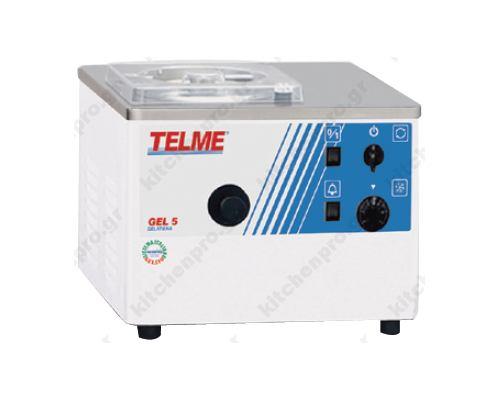 Μηχανή Παραγωγής Παγωτού 5 Λίτρων Gel 5 TELME Ιταλίας