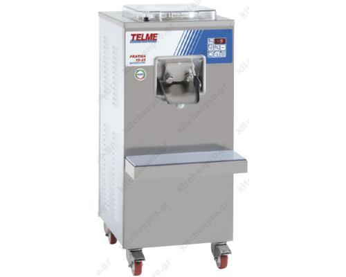 Μηχανή Παραγωγής Παγωτού 25 Λίτρων PRATICA 15-25 TELME Ιταλίας