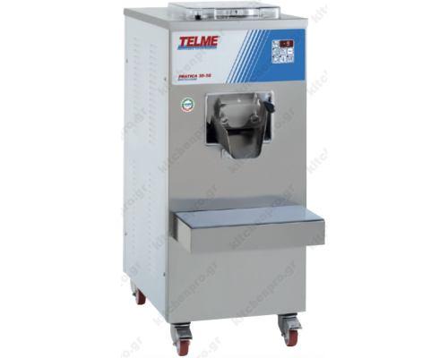 Μηχανή Παραγωγής Παγωτού 50 Λίτρων PRATICA 35-50 TELME Ιταλίας