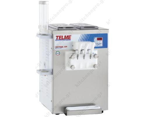 Μηχανή Soft Παγωτού 3 Γεύσεις SOFTGEL 320 TELME Ιταλίας