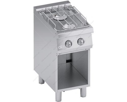 Επαγγελματική Κουζίνα Αερίου 2 Εστιών με Ερμάριο S700 40 x 70 εκ. C2GCU05VV ATA srl Ιταλίας