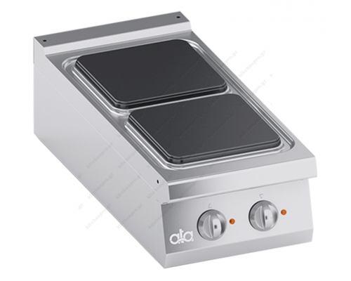 Επιτραπέζια Hλεκτρική Κουζίνα 2 Εστιών 40 x 90 εκ. K4ECUP05TT ATA srl Ιταλίας