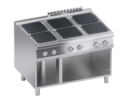 Επαγγελματική Κουζίνα 6 Εστιών + Ερμάριο S900 120 x 90 εκ. K4ECUP15VV ATA srl Ιταλίας
