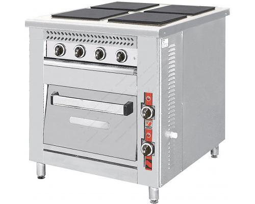 Κουζίνα Ηλεκτρική F80E4 NORTH Ελλάδος