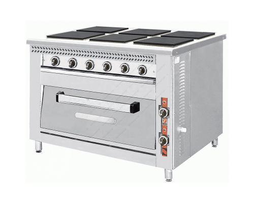 Κουζίνα Ηλεκτρική F80E6 NORTH Ελλάδος