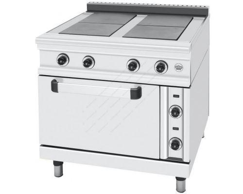 Κουζίνα Ηλεκτρική με 4 Εστίες και Φούρνο FC4FE SERGAS Ελλάδας