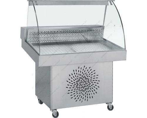 Επαγγελματικό Ψυγείο Βιτρίνα Προβολής Ψαριών 150 x 85 εκ. FO150 BAMBAS Ελλάδος