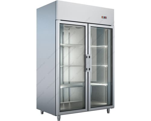 Επαγγελματικό Ψυγείο Θάλαμος Συντήρηση με Κρυστάλλινες Πόρτες 0ºC/+10ºC UB137 BAMBAS Ελλάδος