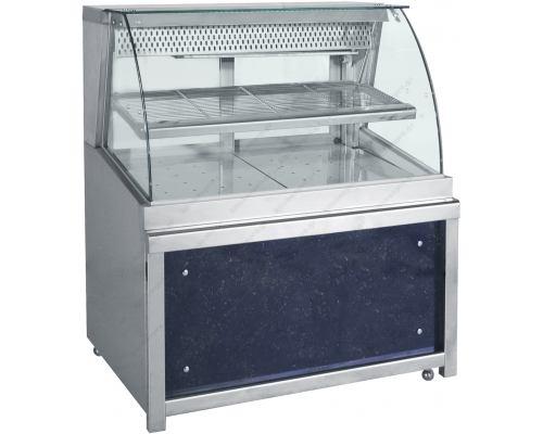 Επαγγελματικό Ψυγείο Βιτρίνα Συντήρησης Ζαχαροπλαστικής 180 x 90 εκ. ZFM180 BAMBAS Ελλάδος