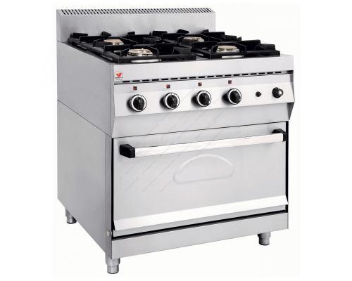 Κουζίνα Αερίου NORTH F GAS E400 Ελλάδος