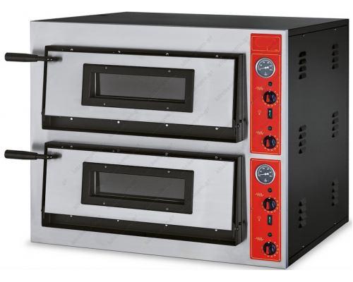 Φούρνος Πίτσας Ηλεκτρικός 12 Πίτσες Ø30 εκ. E 66 GGF Ιταλίας