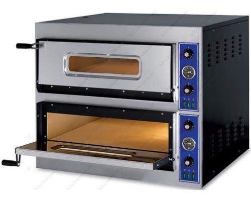 Φούρνος Πίτσας Ηλεκτρικός 12 Πίτσες Ø32 εκ. E-START 6+6 GGF Ιταλίας