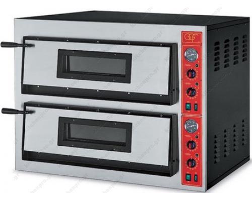 Φούρνος Πίτσας Ηλεκτρικός 8 Πίτσες Ø36 εκ. F72/44 GGF Ιταλίας