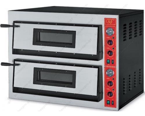 Φούρνος Πίτσας Ηλεκτρικός 12 Πίτσες Ø36 εκ. F72/66 GGF Ιταλίας