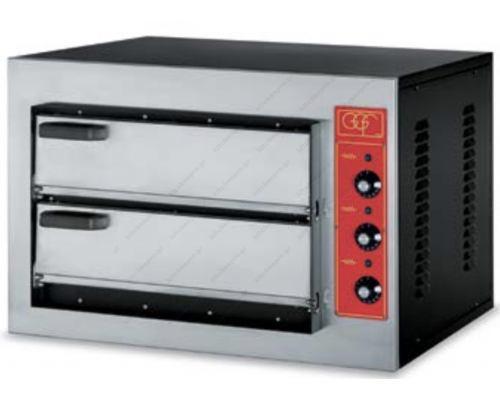 Φούρνος Πίτσας Ηλεκτρικός 2 Πίτσες Ø50 εκ. MINI 3T GGF Ιταλίας