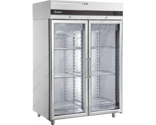 Επαγγελματικό Ψυγείο Θάλαμος-Κατάψυξη με Κρυστάλλινη Πόρτα -18ºC/-10ºC CFS2144GL INOMAK Ελλάδος