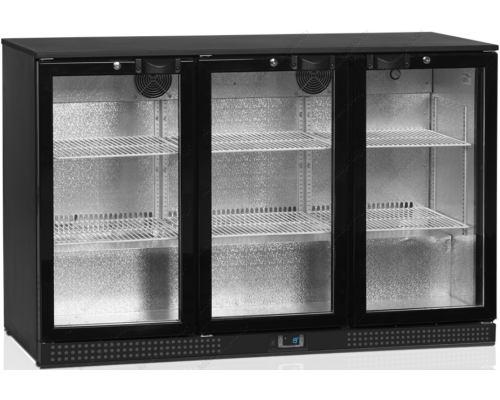 Ψυγείο Back Bar Βιτρίνα με 3 Πόρτες DB300H-3-p TEFCOLD Δανίας