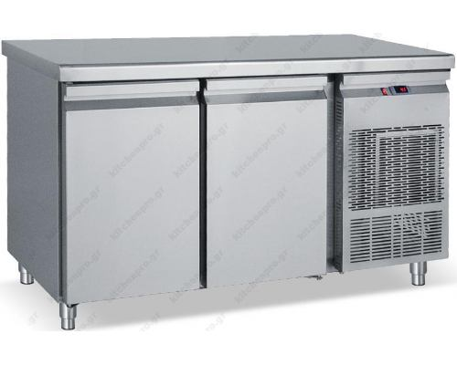 Επαγγελματικό Ψυγείο Πάγκος - Κατάψυξη 139 x 70 εκ. 2 Πόρτες GN 1/1 PGK139 BAMBAS Ελλάδος