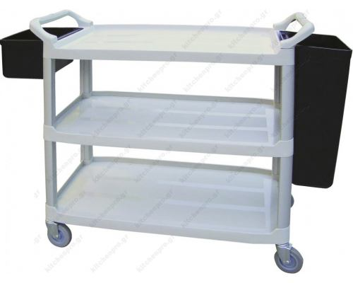 Service Trolley Κουζίνας 85 εκ. με Ράφια RNT Ελλάδος