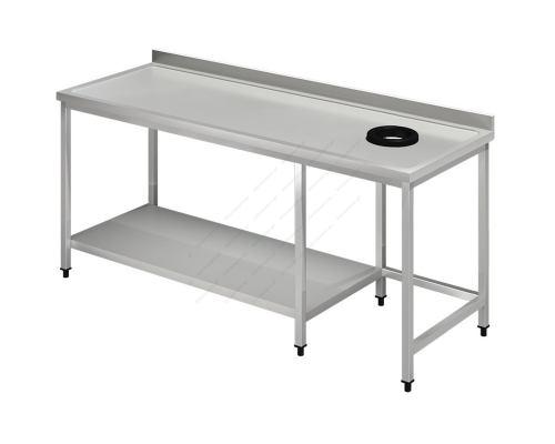 Τραπέζι Παραλαβής Απλύτων 220 εκ